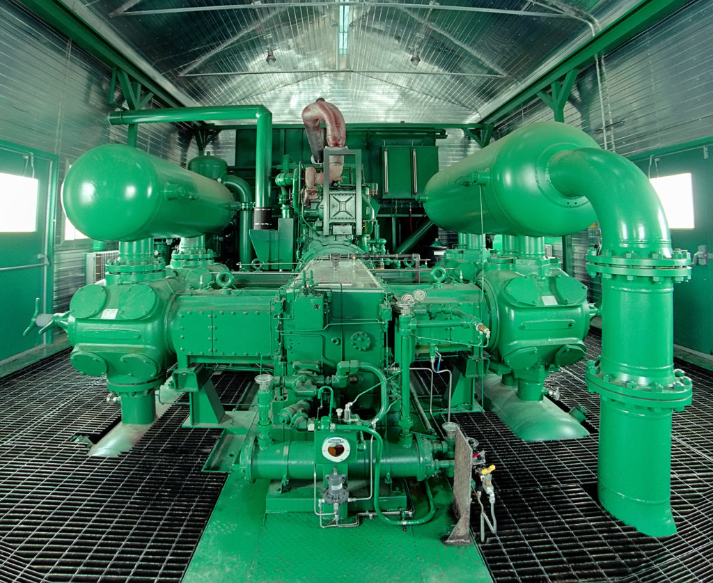 A multistage reciprocating compressors are the workhorse of the natural gas industry